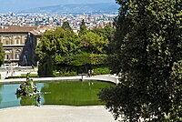Fountain of Neptune, Boboli Garden, Florence (Firenze), UNESCO World Heritage Site, Tuscany, Italy, Europe
