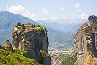 Holy Monastery of Holy Trinity, Meteora, UNESCO World Heritage Site, Thessaly, Greece, Europe
