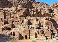 Street of Facades, Petra, Jordan, Asia