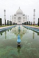 Taj Mahal in Agra, India, Asia