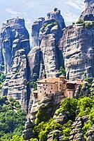 Monastery of Rousanou, Meteora; Thessaly, Greece