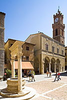 Pienza, Val d'Orcia, Tuscany, Italy, Eruope