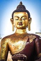 Great Buddha, Patan, Kathmandu Valley, Himalaya Region, Nepal, Asia