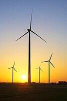 Wind farm, wind turbines, wind turbines, Baden-Wuerttemberg, Germany, Europe