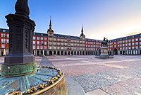 Padlocks, Plaza Major, Madrid, Spain, Europe
