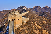 Jinshanling and Simatai sections of the Great Wall of China, Unesco World Heritage Site, China, East Asia