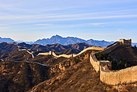 The Jinshanling and Simatai sections of the Great Wall of China, Unesco World Heritage Site, China, East Asia