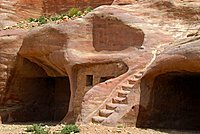 Archaeological site of Petra, Jordan, Middle East