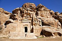 Middle East, Jordan, Little Petra, Beida, Al Beidha is a very important site for visitors in Wadi Musa