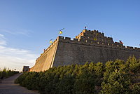 Zhenbeitai Tower of the Great Wall, Yulin, Shaanxi Province, China, Asia