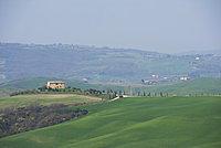 Farm near Pienza, Val D'Orcia, Tuscany, Italy, Europe