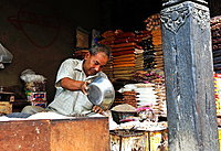 Spices seller, Kathmandu, Nepal