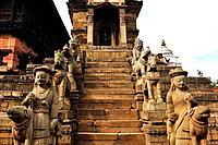 Siddhi Laxmi Hindu temple, Durbar Square, Bhaktapur, Nepal