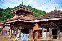 Indreshwar Mahadev Hindu temple, Panauti, Kathmandu Valley, Nepal