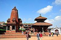 Hindu Temple on Durbar Square, Bhaktapur, Nepal