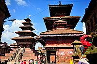 Nyatapola and Bhairabnath Hindu Temples, Bhaktapur, Nepal