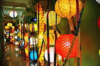 Lamp shop, Kathmandu, Nepal