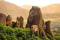Greek Orthodox Rosanou Monastery, Meteora Mountains, Greece, Europe