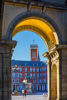 Plaza Mayor, Madrid, Spain, Europe
