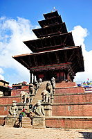 Nyatapola Hindu Temple, Bhaktapur, Nepal