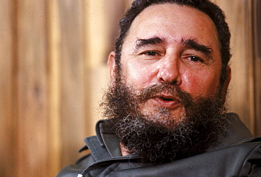 Fidel Castro in a midnight interview with the Miami Herald.