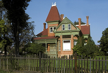 Victorian-era home in Kanab, Utah