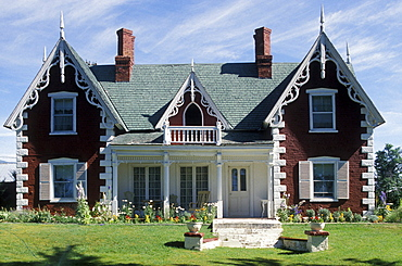 Victorian-era home near Heber, Utah