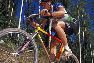 The 1990 World Mountain Bicycle Championships held in Durango, Colorado. Durango was and has been a Mecca for Mountain bikers throughout the nation. The 1990 championships were the first ever unified world championships.