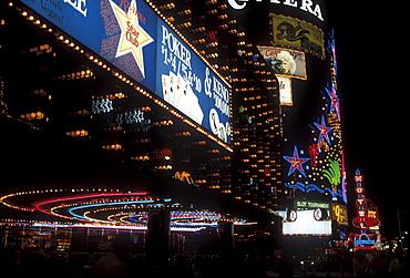 Lights in Las Vegas, Nevada