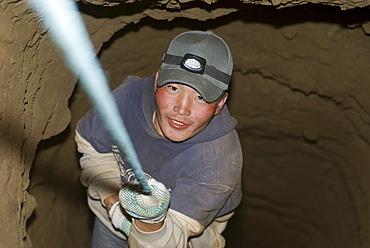 Artisan gold mining, Mongolia