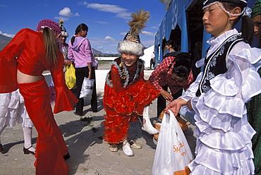 Ulgii, western Mongolia