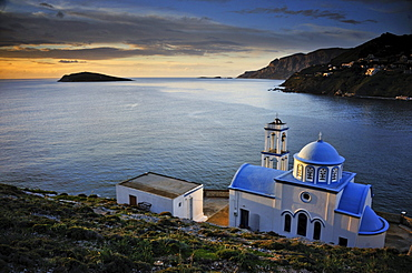 Colorful Monestary on the Island of Kalymnos