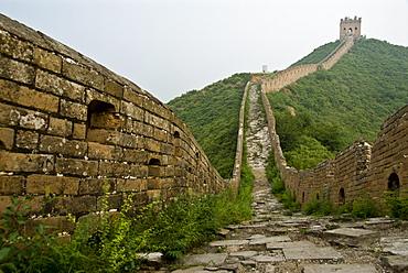 Great wall of China from Jinshanling to Simatai. Hebei Province. China