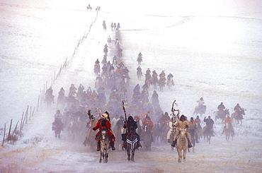 Wounded Knee Ride, Pine Ridge, South Dakota