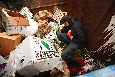Dumpster-diving with Trace R.