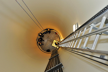 Photographs from 100m high Wind Turbines in Germany.
