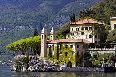 Villa del Balbianello (made famous in several movies) along Lake Como, Italy.