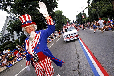 4th of July Parade, Bristol, R.I., America's oldest continuous parade