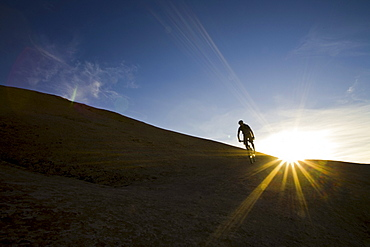 mountain biker, Moab, Utah