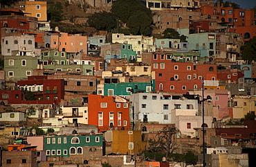 Cityscape of Guanajuato, Mexico, Guanajuato, Guanajuato, Mexico