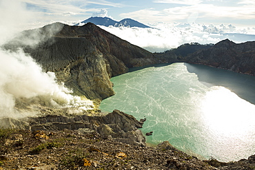 Kawah Ijen volcano, Banyuwangi, Java, Indonesia