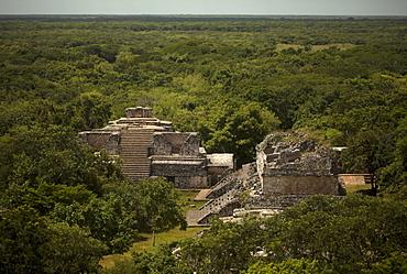 The Mayan city of Ek Balam, Yucatan Peninsula, Mexico