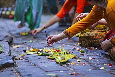 Balinese ceremony,Bali,Indonesia.