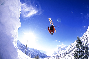 Will Burks, big air at Alta, Utah, United States of America