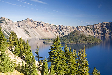 Scenic image of Crater Lake National Park, OR, United States of America