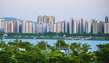 High rise buildings in Seoul