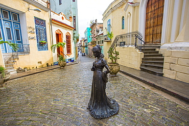The lady of the courtyard, Havana, Cuba, 2016.