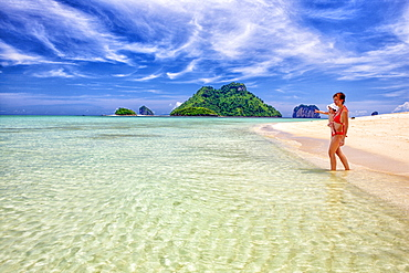 Ko Poda is an island off the west coast of Thailand, in Krabi Province, about 8 kilometres (5 mi) from Ao Nang. It is part of the Mu Ko Poda, or Poda Group Islands, which are under the administration of Hat Nopharat Thara-Mu Ko Phi Phi National Park. The group consists of Ko Poda, Ko Kai, Ko Mo and Ko Thap.
