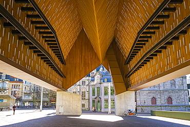 View Of City Pavilion In Belgium