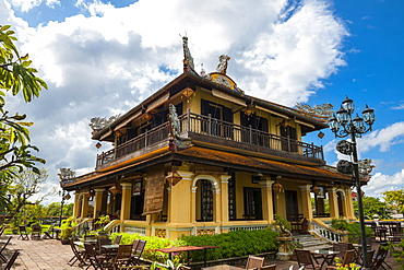 Colonial Building In The Imperial City Of Hue, Vietnam